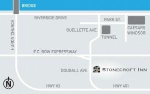 Stonecroft Inn Map